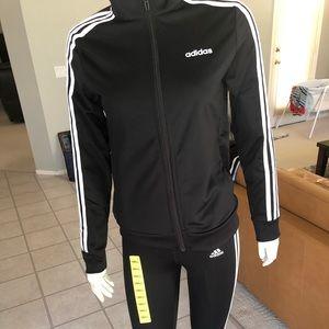 Adidas ladies leggings and jacket size S